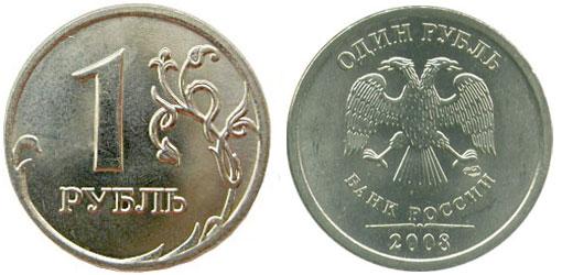 Описание 1 рубль 2008 спмд